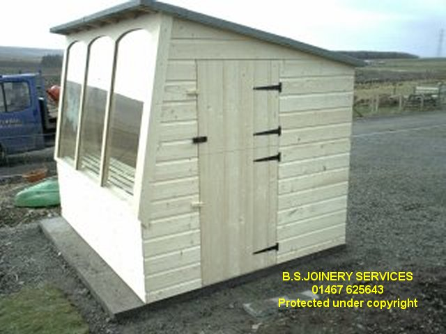 super scout playhouse solar cabin potting shed - Garden Sheds Scotland