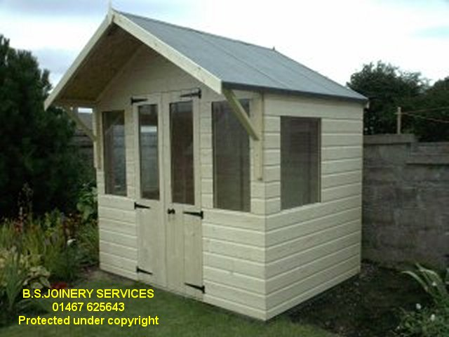 Sun Chalet with double doors 8 ft wide ... & wooden sheds - garden sheds - log stores - dog kennels - play ...