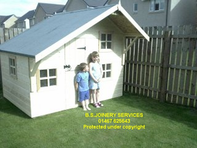 Deluxe Double Deck Playhouse with Canopy