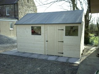 Garden WorkShop Shed